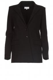Patrizia Pepe |  Classic blazer Zoe | black  | Picture 1