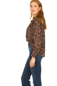 Antik Batik |  Paisly print blouse Otto | multi  | Picture 5