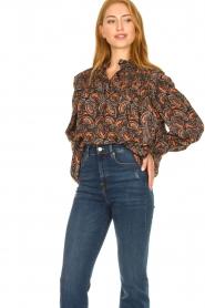 Antik Batik |  Paisly print blouse Otto | multi  | Picture 2