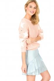 Zoe Karssen | Trui Star | roze  | Afbeelding 4