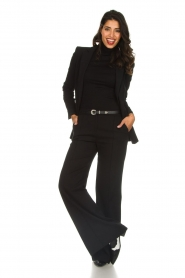 Patrizia Pepe | Pantalon Eryn | zwart  | Afbeelding 2