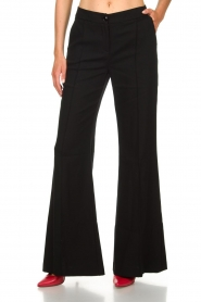 Patrizia Pepe |  Trousers Eryn | black  | Picture 3