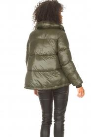 JC Sophie |  Puffer jacket Jennifer | green  | Picture 7