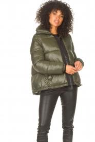 JC Sophie |  Puffer jacket Jennifer | green  | Picture 2
