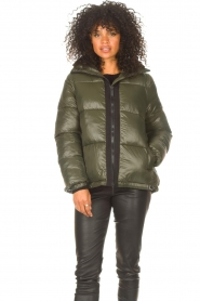 JC Sophie |  Puffer jacket Jennifer | green  | Picture 5