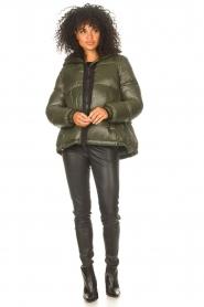 JC Sophie |  Puffer jacket Jennifer | green  | Picture 3