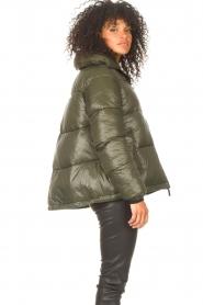 JC Sophie |  Puffer jacket Jennifer | green  | Picture 6