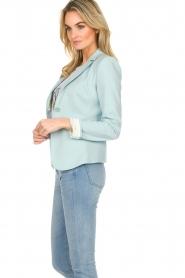 Patrizia Pepe |  Classic blazer Juna | light blue  | Picture 5