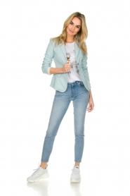 Patrizia Pepe |  Classic blazer Juna | light blue  | Picture 3