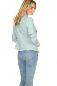 Patrizia Pepe |  Classic blazer Juna | light blue  | Picture 6