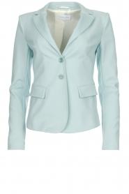 Patrizia Pepe |  Classic blazer Juna | light blue  | Picture 1