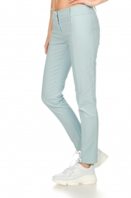 Patrizia Pepe |  Trousers Miranda | light blue  | Picture 4