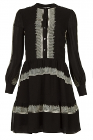Antik Batik | Dress Lindsey | black  | Picture 1