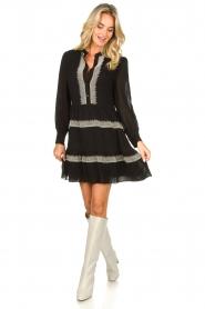 Antik Batik | Dress Lindsey | black  | Picture 3