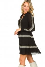 Antik Batik | Dress Lindsey | black  | Picture 6