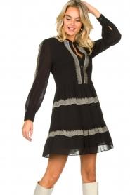 Antik Batik | Dress Lindsey | black  | Picture 4