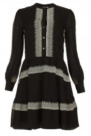 Antik Batik | Dress Lindsey | black  | Picture 1