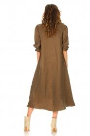 JC Sophie |  Oversized midi dress Junior | green  | Picture 6