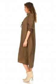 JC Sophie |  Oversized midi dress Junior | green  | Picture 5