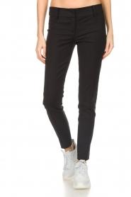 Patrizia Pepe | Trousers Lia | black  | Picture 3
