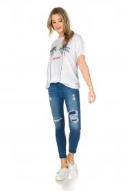 Zoe Karssen | T-shirt L'amour | wit  | Afbeelding 3