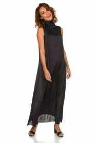 Rabens Saloner |  Maxi dress Allison | black  | Picture 2