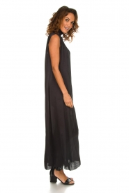 Rabens Saloner |  Maxi dress Allison | black  | Picture 4