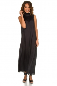 Rabens Saloner |  Maxi dress Allison | black  | Picture 3