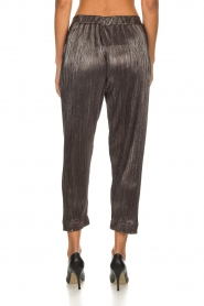 Rabens Saloner |  Plisse trousers Delight | Silver  | Picture 5