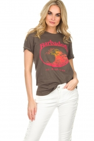 Zoe Karssen |  T-shirt Barbados | grey  | Picture 2