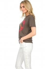 Zoe Karssen | T-shirt Barbados | grijs  | Afbeelding 4