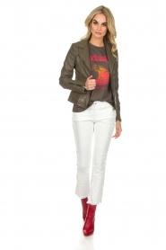 Zoe Karssen | T-shirt Barbados | grijs  | Afbeelding 3