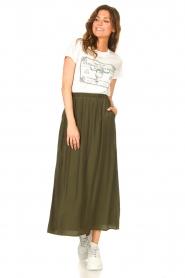 JC Sophie |  Maxi skirt Jasperina | green  | Picture 2