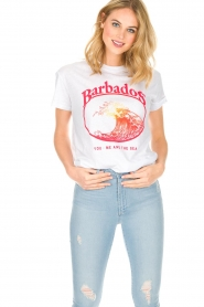 Zoe Karssen | T-shirt Barbados | wit  | Afbeelding 2