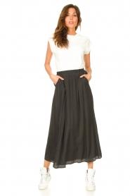 JC Sophie |  Maxi skirt Jasperina | charcoal  | Picture 3