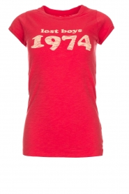 T-shirt Lost boys 1974 | rood