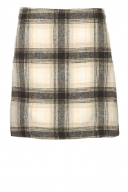JC Sophie |  Checkered skirt Jacklyn | black  | Picture 1