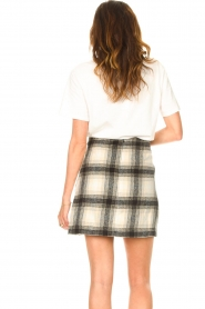 JC Sophie |  Checkered skirt Jacklyn | black  | Picture 7