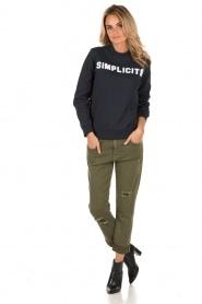 Sweater Simplicite | dark blue