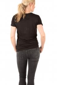 Zoe Karssen | T-shirt Deja Voodoo | zwart  | Afbeelding 5