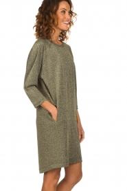 Rabens Saloner |  Glitter dress Delta | gold  | Picture 5