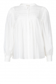 JC Sophie |  Cotton blouse Jade | white  | Picture 1