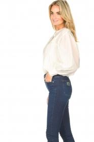JC Sophie |  Cotton blouse Jade | white  | Picture 6