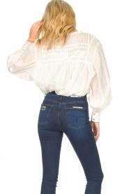 JC Sophie |  Cotton blouse Jade | white  | Picture 7