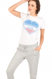 Zoe Karssen | T-shirt Beginners Luck | wit  | Afbeelding 2