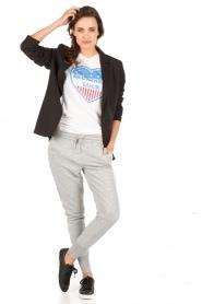 Zoe Karssen | T-shirt Beginners Luck | wit  | Afbeelding 3