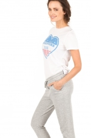Zoe Karssen | T-shirt Beginners Luck | wit  | Afbeelding 4