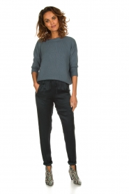 Rabens Saloner |  Trousers Carmina | blue  | Picture 2