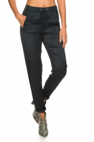 Rabens Saloner |  Trousers Carmina | blue  | Picture 3