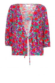 Notes Du Nord | Flower top Rosie | red  | Picture 1